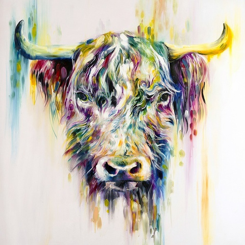 Katy Jade Dobson Highland Cow